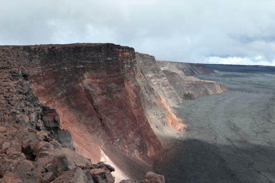 Wanderung auf den Mauna Loa (4169m), Hawaii