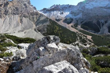 Von Pederü zur Lavarella Hütte