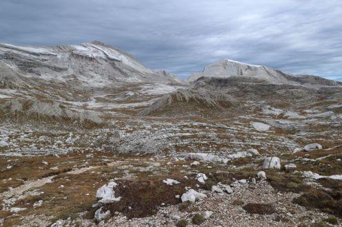 Abstieg von der Lavarella