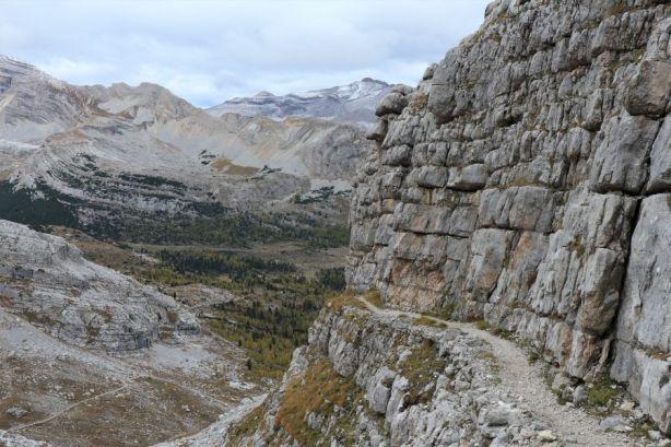 Friedensweg zum Vallon Bianco