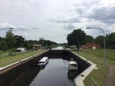 Schleuse des Elbe-Lübeck-Kanals bei Neu Lankau