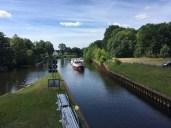 An der Schleuse des Voßkanals bei Liebenwalde