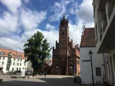 Das Altstädtische Rathaus mit Roland in Brandenburg/Havel