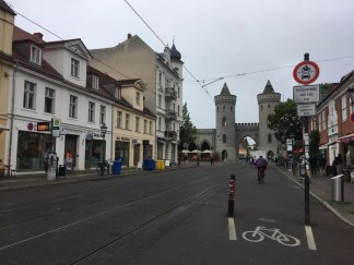 Das Nauener Tor in Potsdam