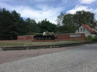 Der russische Panzer in Fürstenberg