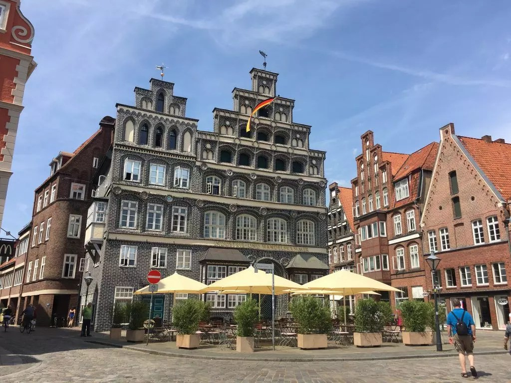 Fahrradtour ab Bienenbüttel über Lüneburg und die Elbe nach Hamburg, Nordostdeutsche Runde 11