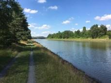 Fahrradtour auf dem Radweg am Elbe-Seitenkanal bei Uelzen