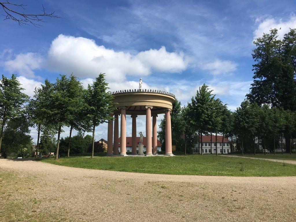 Im Schlossgarten in Neustrelitz (2)