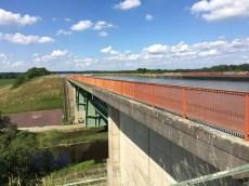 Trogbrücke des Elbe-Seitenkanals über die Ilmenau
