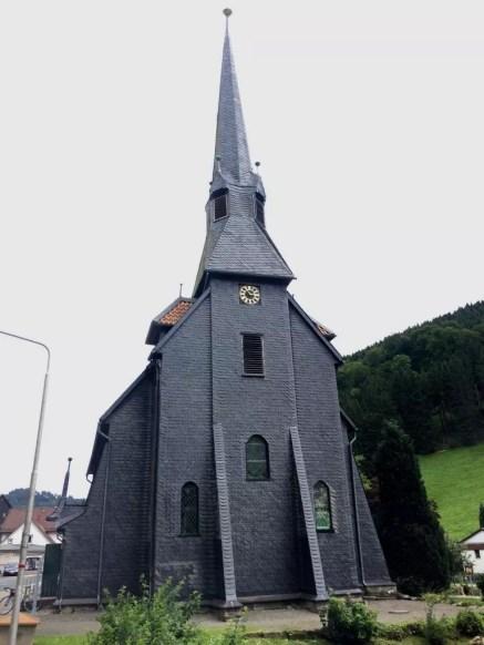 Die Kirche in Sieben im Harz