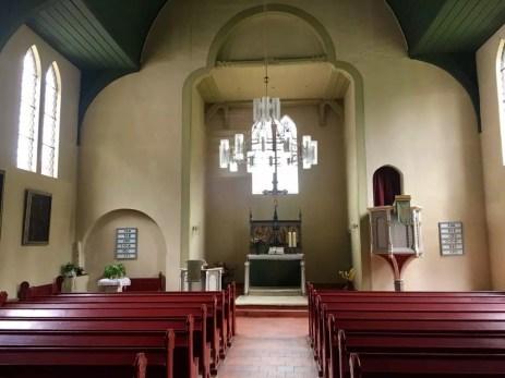 In der Kirche in Sieber