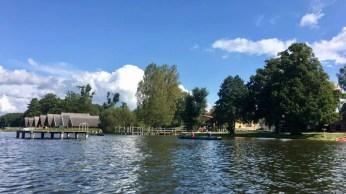 Kanustation und Anleger in Granzow