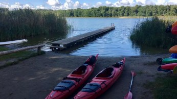 Unsere Kayaks sind fast startklar