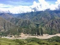 Blick über den Chicamocha-Canyon in der Nähe von San Gil
