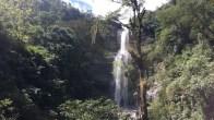 Der Wasserfall bei San Gil - hier kann man sich abseilen