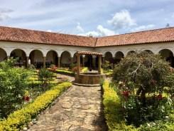 Im Kloster Ecce Homo bei Villa del Leyva