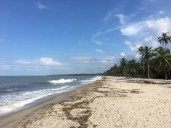 An der kolumbianischen Karibikküste bei Santa Marta