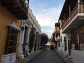 In der Altstadt in Cartagena
