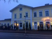 Der Bahnhof von Preetz