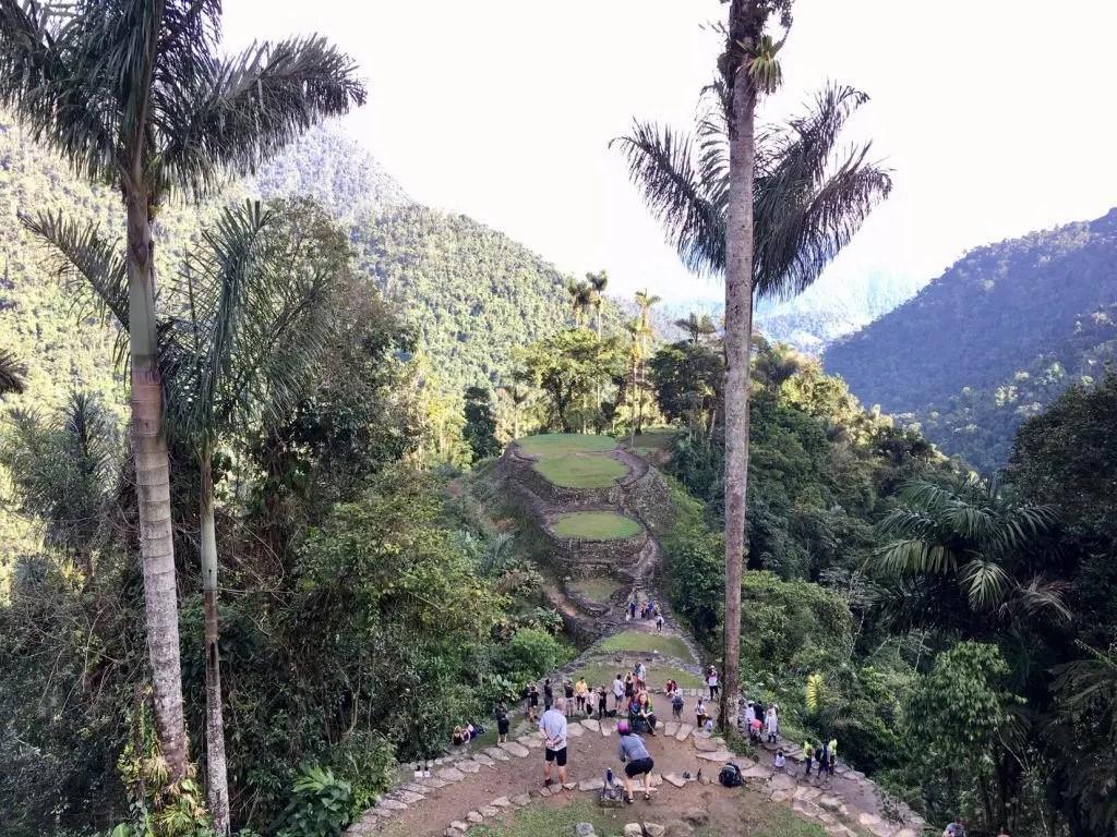 """Trekking in Kolumbien: Wanderung zur """"Verlorenen Stadt"""" - Ciudad Perdida (Tag 3 von 4)"""