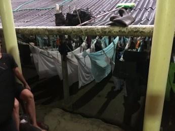 """Hängemattenlager im Camp """"Cabana Paraiso"""""""