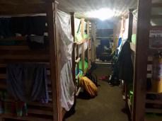"Matratzenlager in Camp 2 ""Cabana Paraiso"""