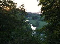 Auf dem Weinberg in Hitzacker - Blick in die Elbtalaue
