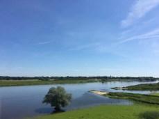 Blick auf die Elbe bei Dömitz