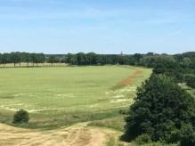 Blick vom DDR-Wachturm in Richtung Lenzen