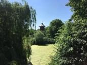 """Der """"Schlossgraben"""" am Schloss in Rühstädt"""