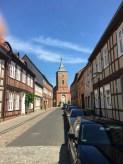 In der Altstadt von Lenzen