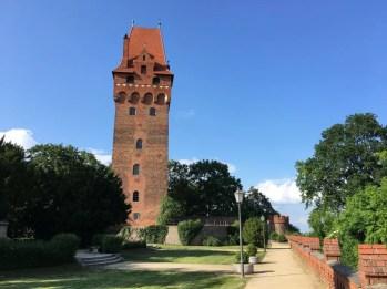 In der Burganlage Tangermünde