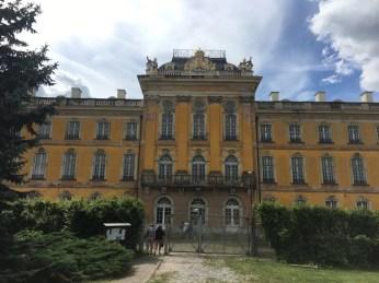 Das Schloss in Dornburg - hier residierte schon die spätere Zarin von Russland, Katharina II.