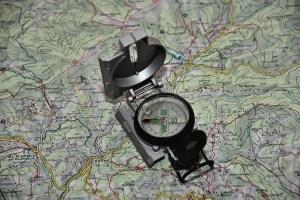 Konventionelle Wandernavigation