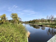 Der Elbe-Lübeck-Kanal bei Güster