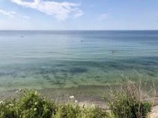 Blick von der Steilküste bei Wustrow auf dem Darß