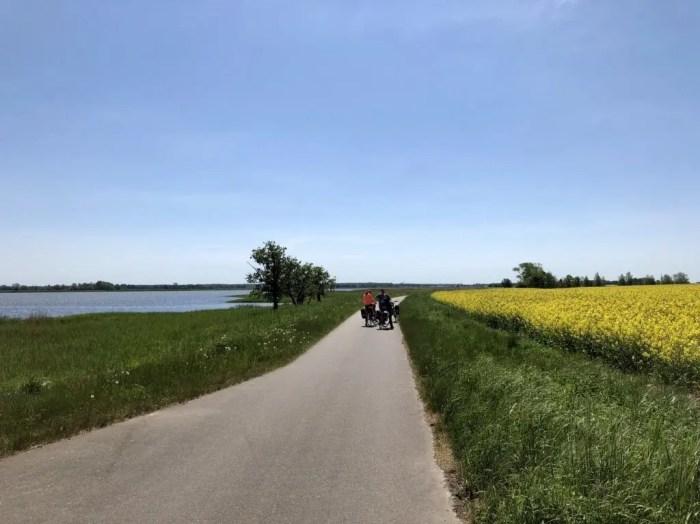 Radtour auf dem Ostseeradweg bei Barth