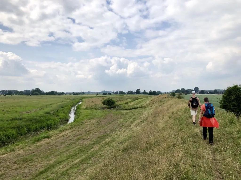 Wanderung von Wedel in die Haseldorfer Marsch und an die Elbe