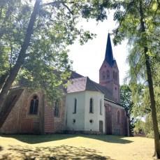 Die alte Kirche in Krummin