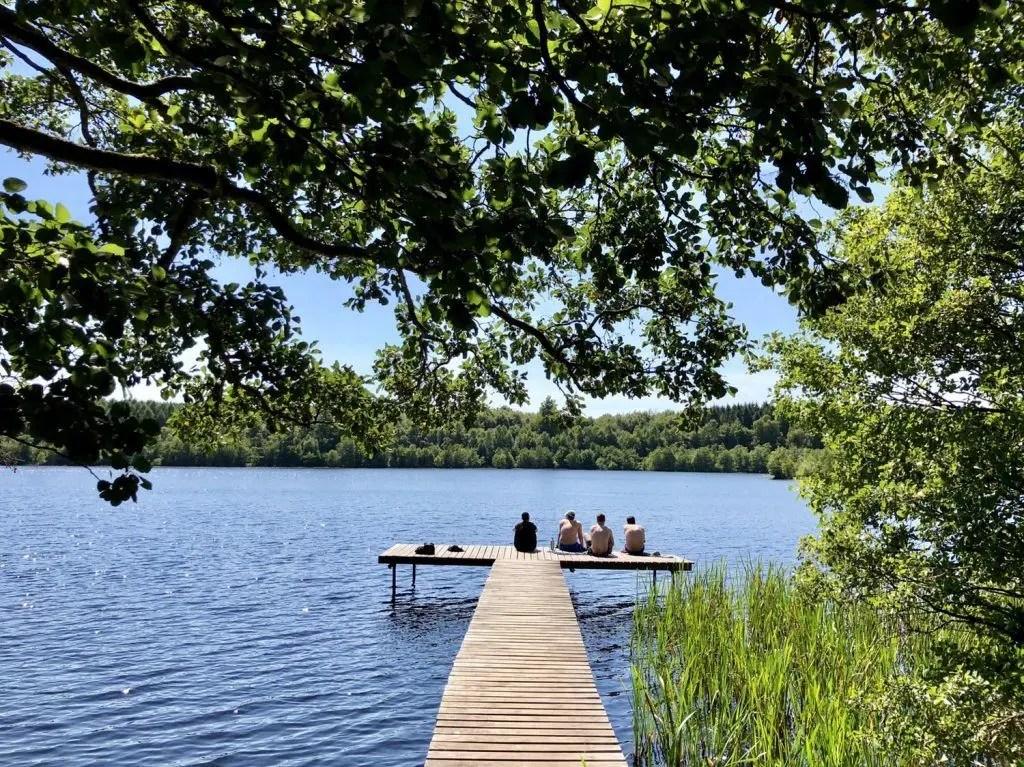4 Tages-Wanderung auf dem Skåneleden in Südschweden