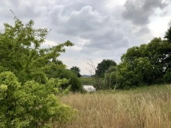 Landschaft beim Lagerplatz Sturup