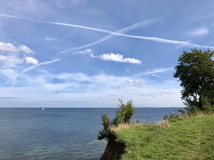 Blick vom Brodtener Steilufer über die Lübecker Bucht