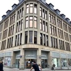 Das Karstadt Stammhaus in Wismar - Gründungsort der Kaufhauskette