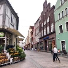 Im Wismarer Zentrum