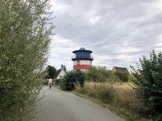 Leuchtturmhaus bei Beckerwitz östlich von Boltenhagen
