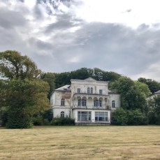 Eine alte Villa in Heiligendamm