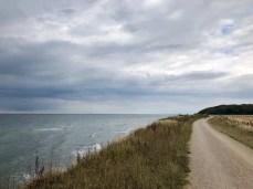 Fahrrad fahren auf dem Ostseeradweg bei Nienhagen