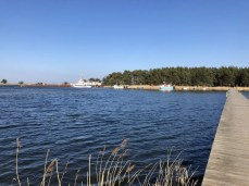 Der kleine Hafen an der Nordspitze des Darßes