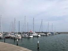 Im Yachthafen Grömitz