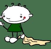 Männchen - Tuch